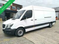 2015 65 MERCEDES-BENZ SPRINTER LWB 313 CDI 6 SPEED WITH ELECTRIC WINDOWS AND SID