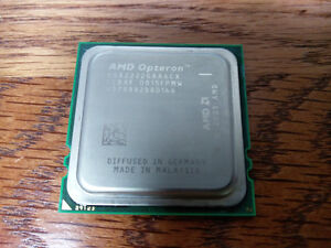2x matching pair AMD Opteron 2222 3GHZ Socket F