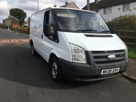 2008 ford transit 2.2tdci Duratorq 85ps t260s plylined 2owners no vat