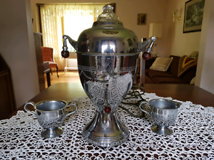 Antique Silver Coffee Maker