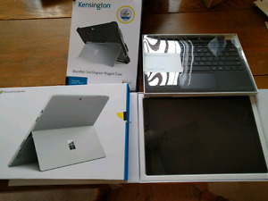 Brand new Microsoft Surface Pro 4 m3/128gb with keyboard