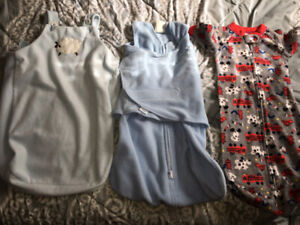 3-6 months Swaddling bags
