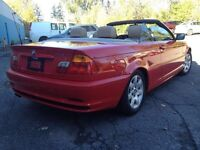 2001 BMW 3 series Convertible (accident free / low kms)