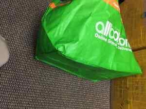 800 x Woven Polypropylene Bags. Like Large Ikea Bag Strathcona County Edmonton Area image 3