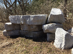 Wholesale Lot of 22 Armour Stones. Need gone asap