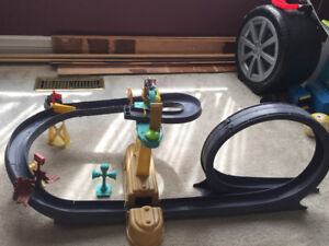 3 Chuggington die cast train sets in great condition.