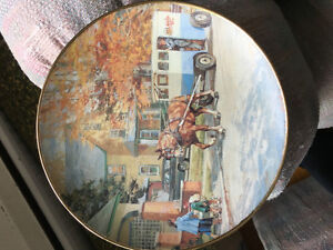 """Peter Etril Snyder """"The Milkman"""" Plate with stand"""