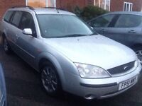 Cheap diesel, mondeo 2litre tdci estate