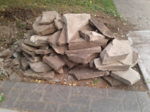Free Natural Landscaping Stones