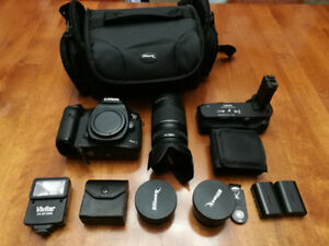 Canon 5D mark III with canon 70-300mm  lens and accessories