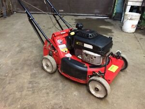 Gravely self propelled lawn mower