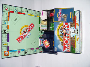 DELUXE MONOPOLY GAME [french]