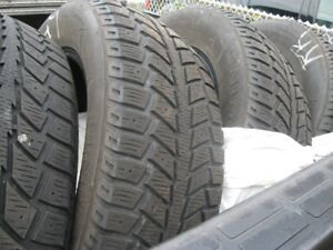 "215/65R17"" SNOW TIRES SET OF 4"