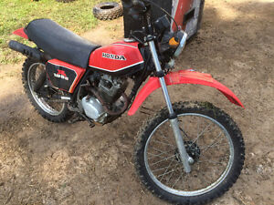 Sold pending pick up  1981 Honda XL 185S
