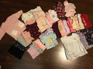Baby girl clothing 0-3/3-6 months