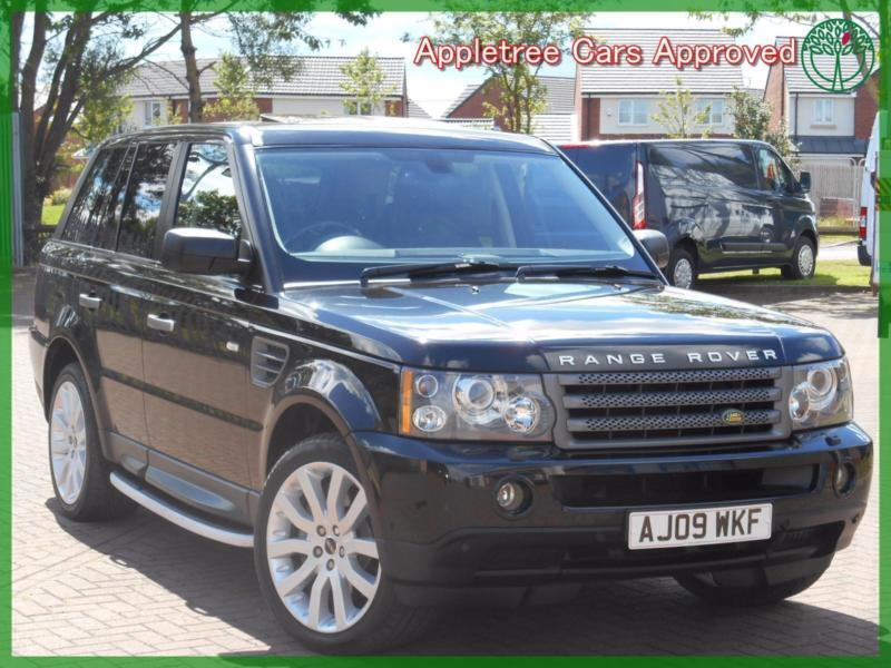 2009 09 land rover range rover sport 2 7 tdv6 hse automatic in newcastle tyne and wear. Black Bedroom Furniture Sets. Home Design Ideas