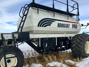 2010 BOURGAULT 6450. 2 fans. DELUXE AUGER