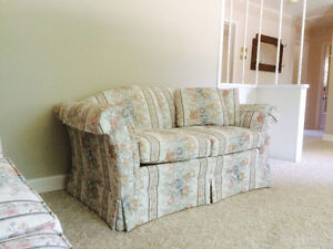 Couch and love seat in good condition