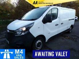 2015 Vauxhall Vivaro 2900 L2h1 Cdti LWB L/R LWB Panel Van Diesel Manual