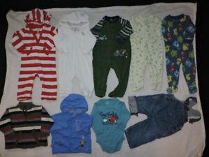 Warm baby boy lot size 12 months