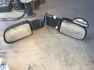 Electric power vision extendable mirrors for 98 Dodge truck