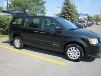 WHEELCHAIR VAN 2013 GRAND CARAVAN REAR-ENTRY, SHOWROOM