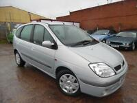 RENAULT SCENIC EXPRESSION 1.6 PETROL MPV 12 MONTHS MOT