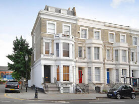 2 BEDROOM in VICTORIAN conversion, LADBROKE GROVE - one single and 1 large double - high standard
