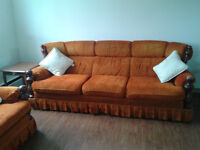 3pc sofa, love seat and chair
