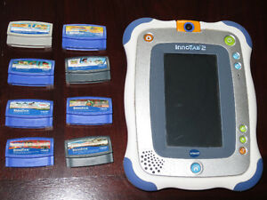 Blue Innotab 2 with 11 games