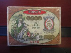 Vintage Simons Havanas Cigar Box