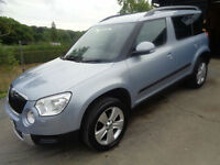 Skoda Yeti 2.0TDI CR ( 140ps ) 4x4 SE