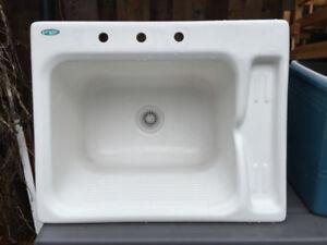Acrylic Laundry Sink  - Acr-itek L07945 - NICE!!!