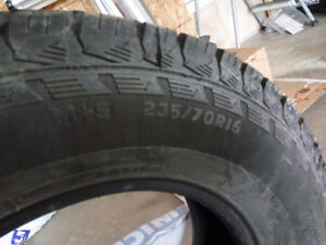 235/70R16 Snow tires for sale