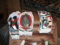 CHRISTMAS TOWELS - $5.00 A PAIR