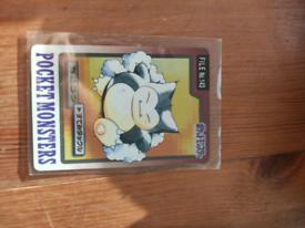 Snorlax 143 Pokemon card