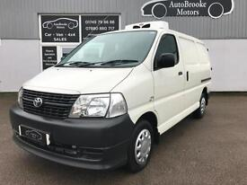 2009 TOYOTA HIACE 2.5 D-4D FRIDGE VAN / REFRIGERATED CHILLER LOW MILES NO VAT