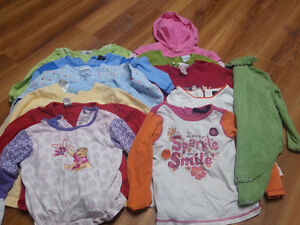 Lot of girl spring clothes - size 24 months