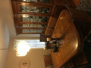 Dining Room Set with Hutch - Moving Sales