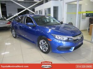 Honda Civic Sedan CVT LX Camera recul Portes, Vitres, Electrique