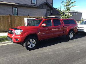 2013 Toyota Tacoma 4x4 TRD Sport Pickup Truck with canopy.