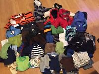 12 month baby boy clothes (152 items)