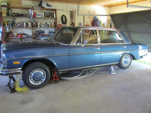 1970 Mercedes-Benz 300 SEL 3.5 W109 stored 30 years.