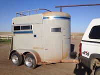 2-horse trailer for sale