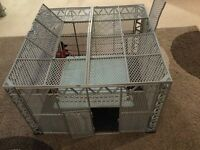 WWE Wrestling ring - Hell in a cell