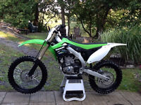 Showroom Condition 2014 Kawasaki KXF 450