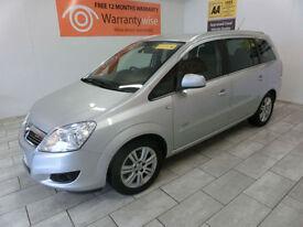 2011 Vauxhall/Opel Zafira 1.7CDTi 16v ecoFLEX ( 125ps ) Design
