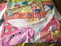 Peppa pig quilt cover single