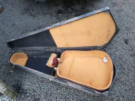 Classic vintage barn find guitar case fender