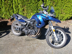 Excellent 2010 BMW F650 GS Twin